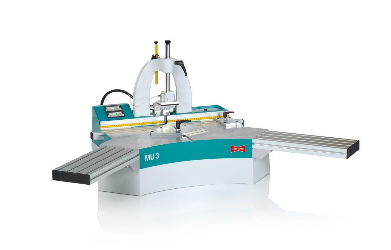 Hoffmann Mu3 Pd Pneumatic Dovetail Routing Machine With Digital