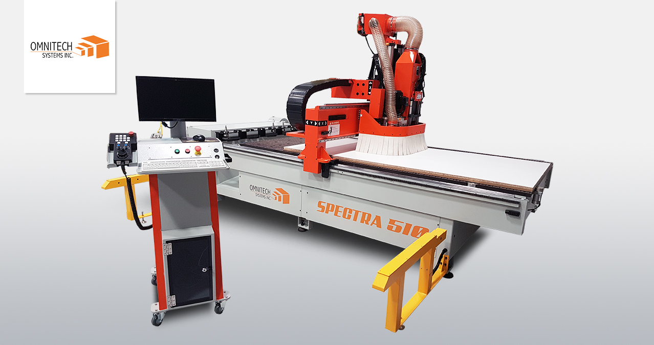 Omnitech Systems Spectra Series CNC Router